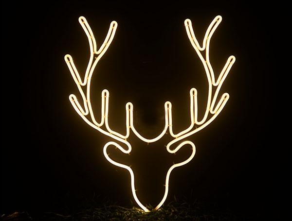 鹿头6 暖白色